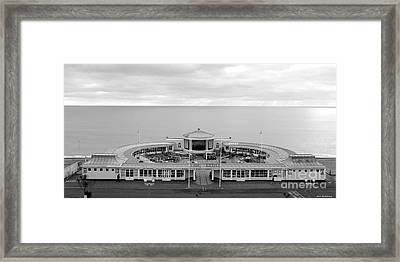 # 2 The Lido Worthing Photo Uk Framed Print by Alan Armstrong