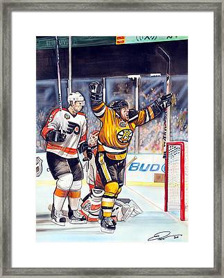 2010 Nhl Winter Classic Framed Print by Dave Olsen