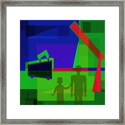 302 - Travelling Framed Print