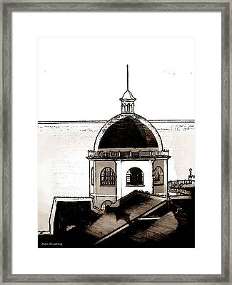 # 31 The Dome Cinema Worthing Uk Framed Print by Alan Armstrong