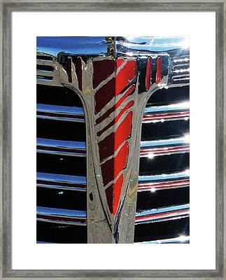 41 Chevrolet Emblem Framed Print