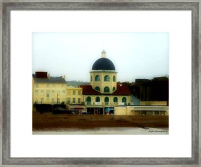 # 86 The Dome Cinema Worthing Uk Framed Print by Alan Armstrong