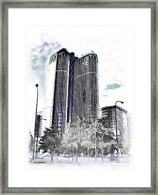 # 9 Torre Europa Madrid Framed Print by Alan Armstrong