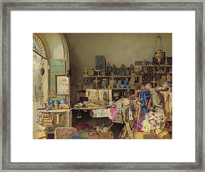 A Bit Of Rome Framed Print by Benjamin Walter Spiers