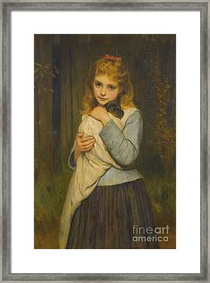 A Foster Mother Framed Print by Celestial Images