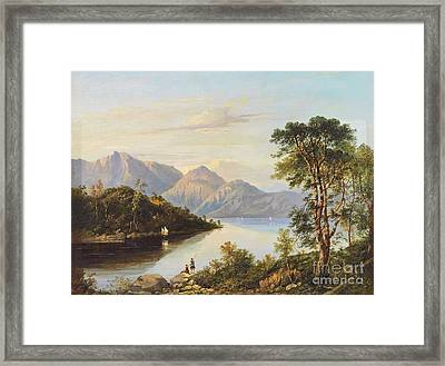 A Highland Loch Landscape Framed Print by MotionAge Designs