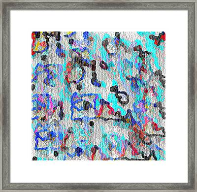 African Dance Framed Print by Jacqueline Mason