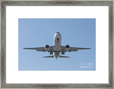 Aireuropa - Boeing 737-85p - Ec-jbl  Framed Print