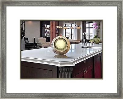 ' An Ergo Energy Enhancer - On 1 ' Framed Print