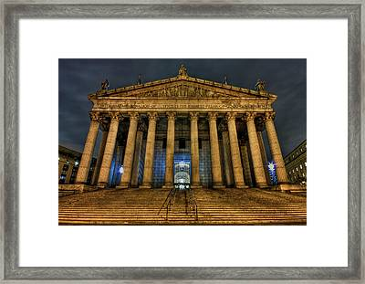 ... And Justice For All Framed Print by Evelina Kremsdorf