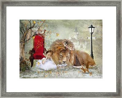 ..... And She Sleeps Framed Print
