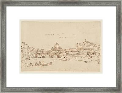 Angelo And St Peter Framed Print by MotionAge Designs