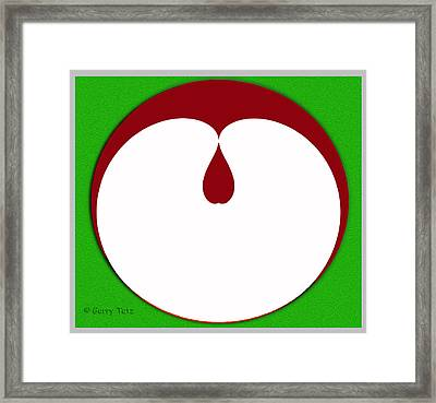 Apple Seed Framed Print