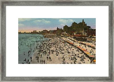 Atlantic City Spectacle Framed Print
