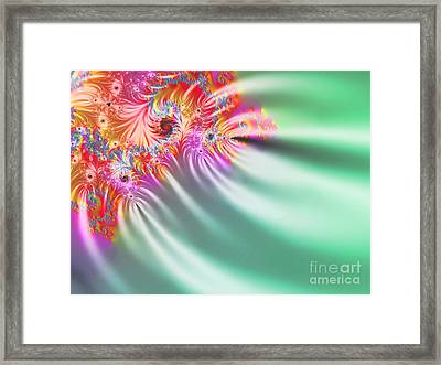 Aurora Color Dreams Framed Print by Stefano Senise