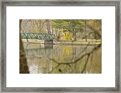 Bridge Revealed Framed Print by Robert Joseph