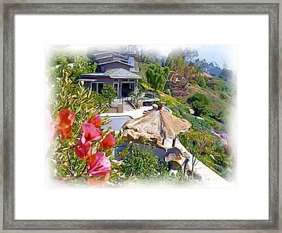 California House Framed Print by Ralph Liebstein