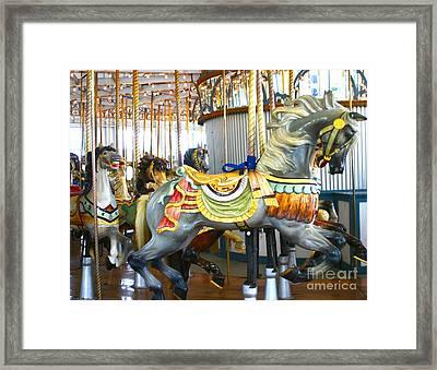 Carousel C Framed Print