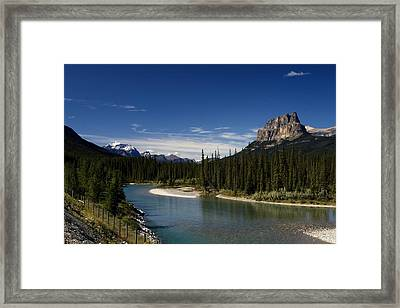 Castle Mountain 1 Framed Print