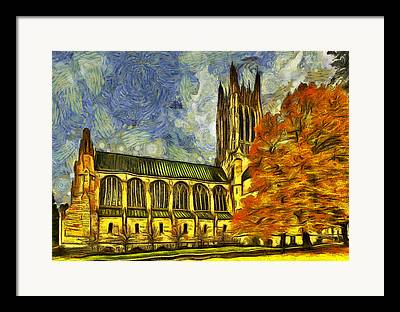 St John The Evangelist Framed Prints