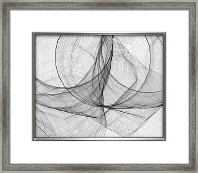 ' Caught In The Gauze Of Life ' Framed Print