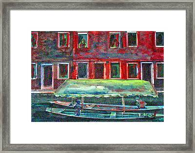 China Village Framed Print by Peggy  Blood