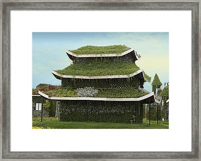 Chinese House Framed Print