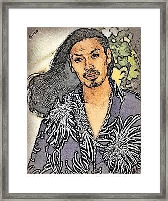 Christof Jesus Framed Print
