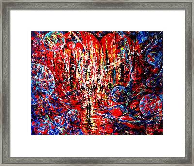City Of Light Framed Print