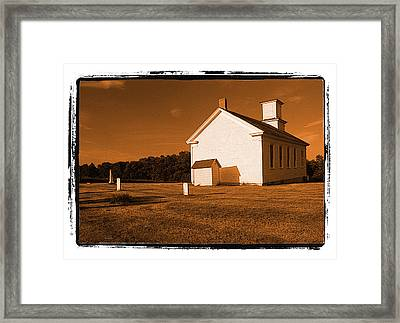 Country Church Framed Print by Craig Perry-Ollila