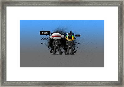 Daft Punk - 210 Framed Print by Jovemini ART