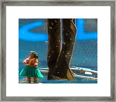 Dashboard Island  Framed Print by Steven Digman