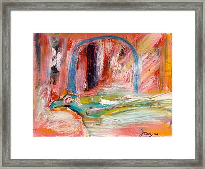 Day 18177 Bird Framed Print by Contemporary Art By PEARSE