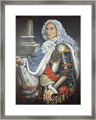 D.cantemir Framed Print by Sorin Apostolescu