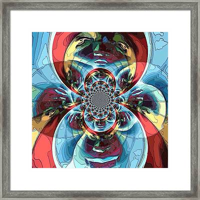 Different Perspectives  Framed Print