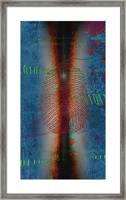 Dig1ts Framed Print