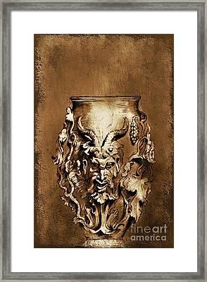Dionysus.... Framed Print by Andrzej Szczerski