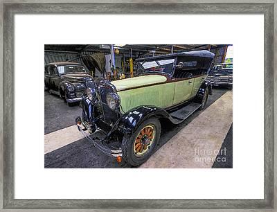 Dodge 6 Cylinder Sedan Framed Print by Ian Mitchell