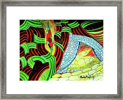 Doodlewat10 - Burst Of Spring Framed Print