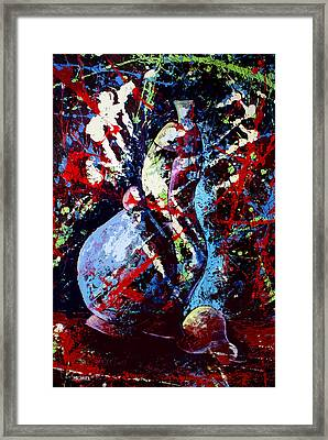 Dripx 80 Framed Print