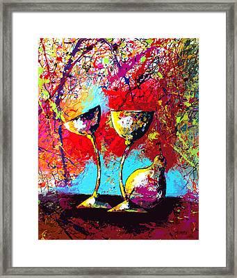 Dripx 86 Framed Print