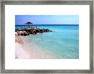 Eagle Beach Aruba Framed Print