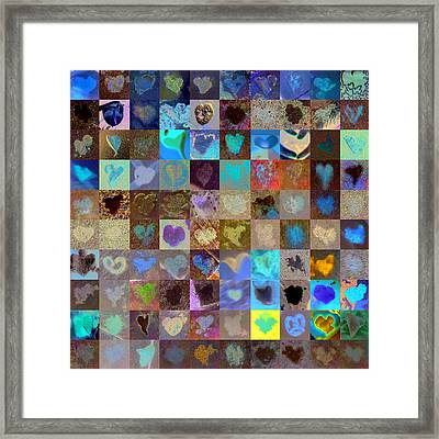 Eight Hundred Series Framed Print by Boy Sees Hearts