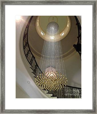 Elegant Framed Print by Wanda-Lynn Searles