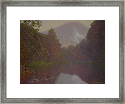 Ellery River 1977 Framed Print