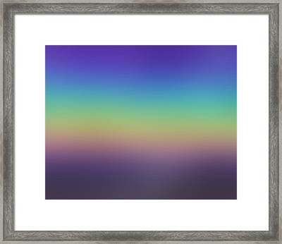 Evening Framed Print by Dr Loifer Vladimir