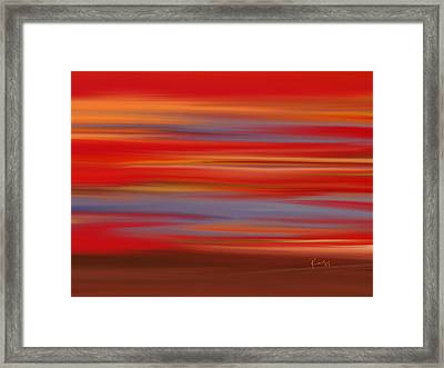 Evening In Ottawa Valley Framed Print by Rabi Khan