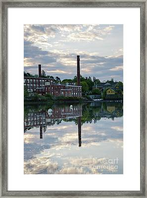 Exeter New Hampshire Usa Framed Print by Erin Paul Donovan