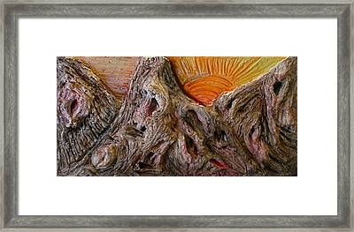 Expression Caves Framed Print by Kime Einhorn