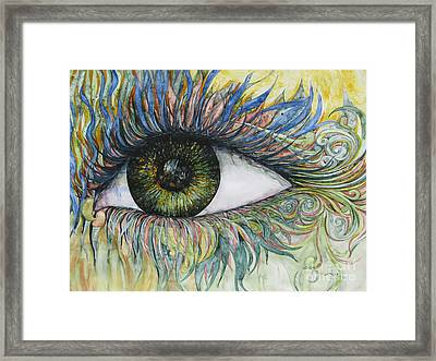 Eye For Details Framed Print